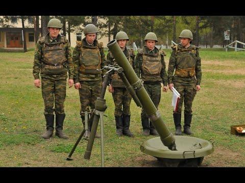 120 мм возимый миномет «Сани»
