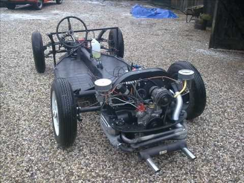 Porsche 356 Speedster Replica Chassis Building Youtube