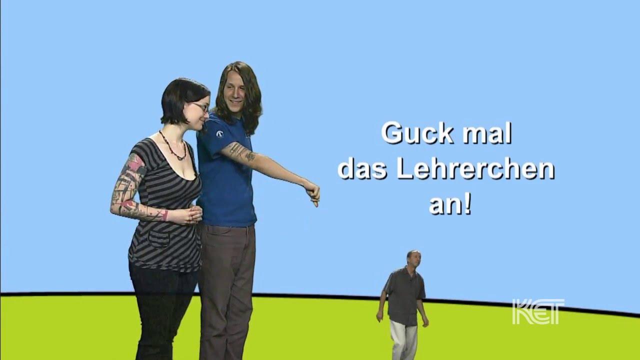 Diminutive form in German - YouTube