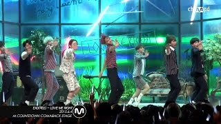 Mpd직캠  엑소 직캠 Love Me Right Exo Fancam  Mnet Mcoun