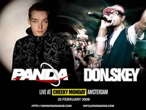 PandaDNB feat. MC Don.Skey Live at Winston