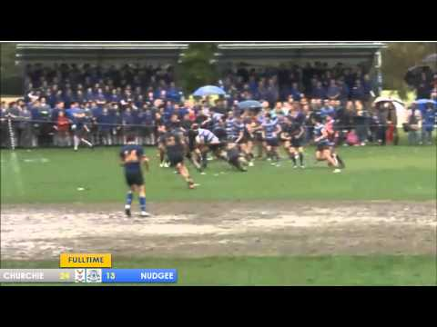 Churchie vs Nudgee 1st XV 2014