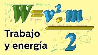 Trabajo y energía I: conceptos - Física - Educatina