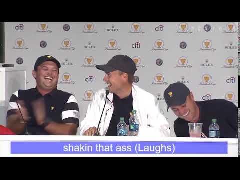 Jordan Spieth sings shakin that ass
