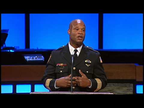 MPD Director Toney Armstrong | Officer Sean Bolton Memorial Service