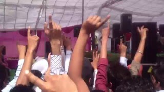 preet harpal in doaba college nawansher with angry students