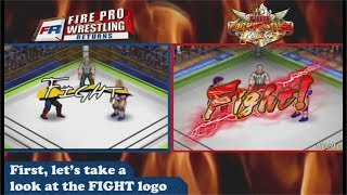 Fire Pro Returns vs Fire Pro World: Comparison Side by Side