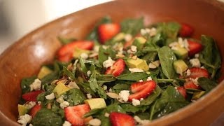 Kelly's Strawberry Spinach Salad