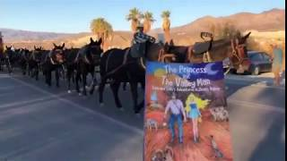 Luna and Solis met the world famous, 20-mule team!