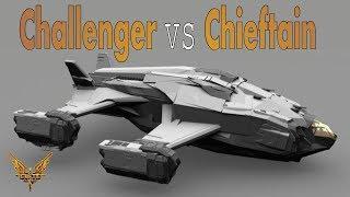 Elite:Dangerous. Alliance Challenger vs Alliance Chieftain