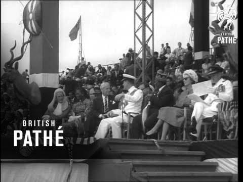 Duke Of Edinburgh At Kenya Independence (1964)