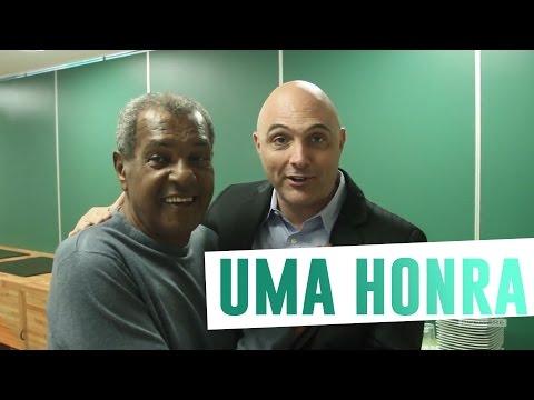 Luís Pereira visita a Academia de Futebol