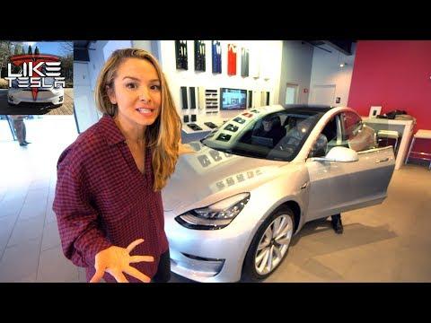 A Surprise Tesla Model 3 Delivery!