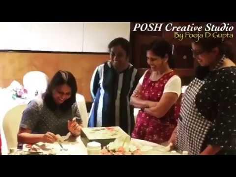 Mix Media   Bangalore   By Pooja D Gupta   POSH Creative Studio