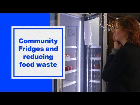 Community Fridges & Reducing Food Waste | Hubbub Vlog