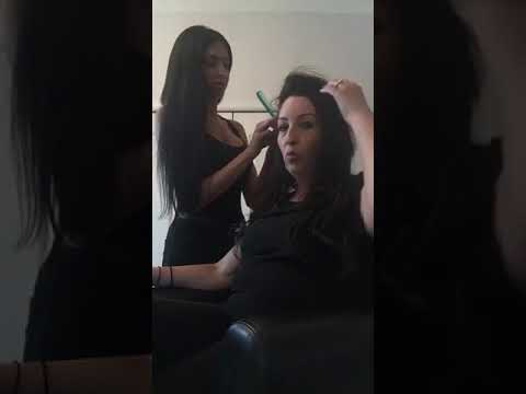 Tape In Hair Extensions Removal By Glam Fairy Of Ottawa