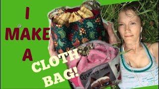 I make a cloth bag step by step CraftyLori