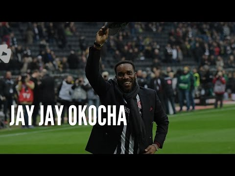 Jay Jay Okocha in Frankfurt