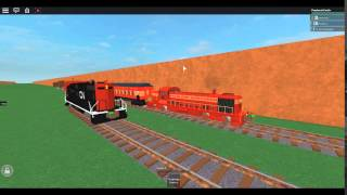 Roblox: BNRR: CN GP7 Freight passe BNRR RS3 Passager