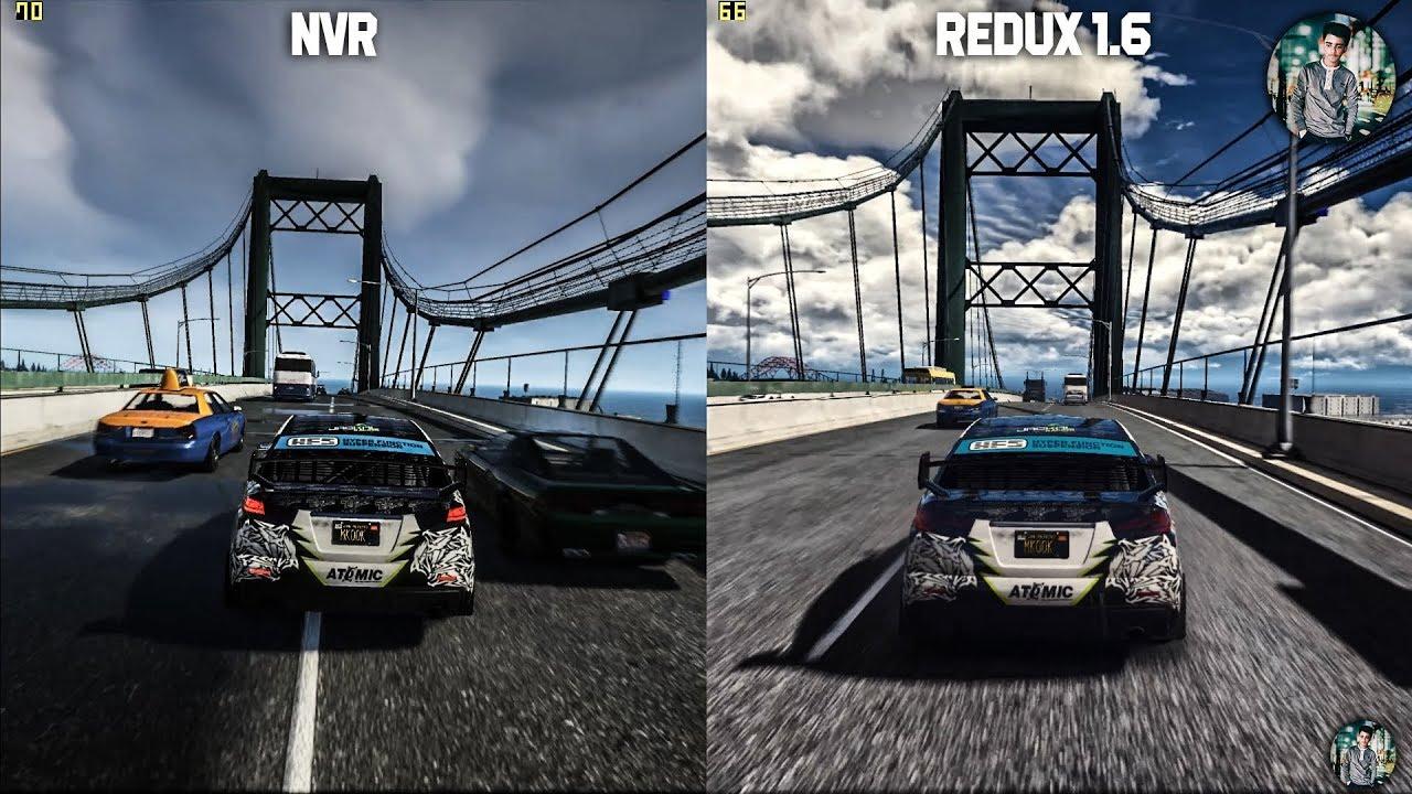 86929b013e7 GTA V REDUX 1.6 VS NaturalVision Remastered Gameplay Graphics ...