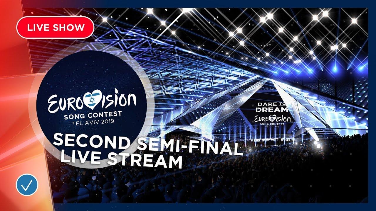 Евровидение-2019: второй полуфинал, прямая трансляция