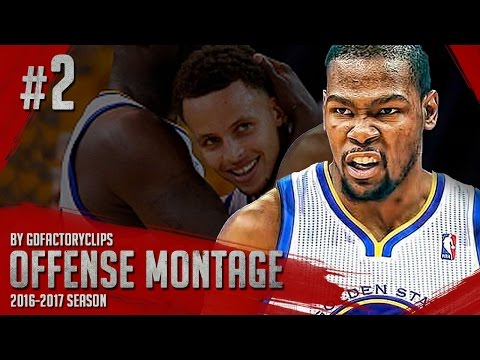 Kevin Durant Offense Highlights Montage 2015/2016 (Part 2) - The Slim REAPER!