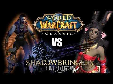 WoW Classic vs FFXIV Shadowbringers - My Thoughts