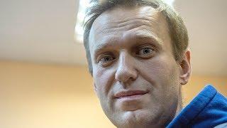 Навальный: ещё 20 суток ареста   Новости