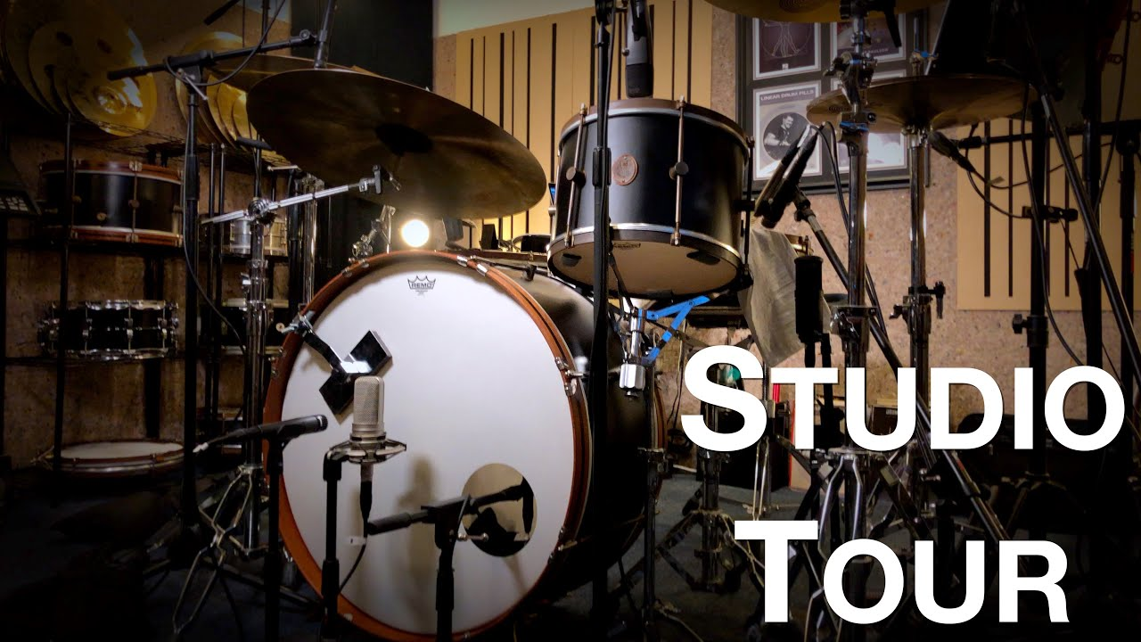 Unleashed Drum Studio Tour