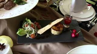 Menú Afrodisiaco del Restaurante Vitruvio en el Hotel Spa Torre Pacheco