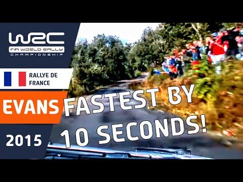 WRC - Tour de Corse - Rallye de France 2015: ONBOARD Evans SS03