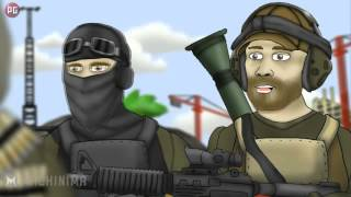 Battlefield Friends / Друзья по Battlefield: Специалист по Клейморам (1 сезон 10 серия) [РУС] HD