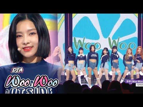 [HOT]DIA- WooWoo ,  다이아 - 우우 Show Music core 20180908