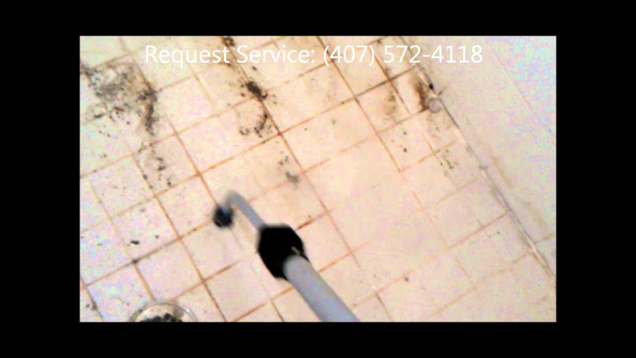 Ordinaire Vapor Steamer Kill And Remove Mold In Nasty Shower. Grout Cleaning