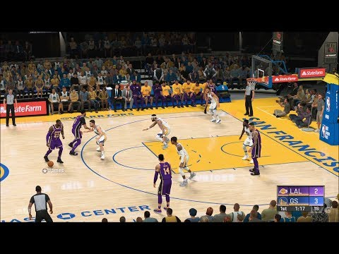 NBA 2K20  Golden State Warriors vs Los Angeles Lakers  Gameplay (PS4 HD) [1080p60FPS]