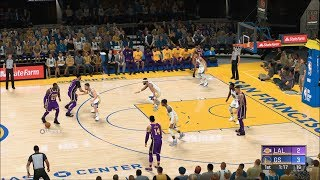 NBA 2K20 - Golden State Warriors vs Los Angeles Lakers - Gameplay (PS4 HD) [1080p60FPS]