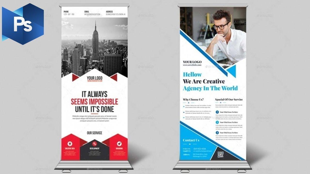 Tutorial Membuat Desain X Banner dengan Adobe Photoshop cs ...