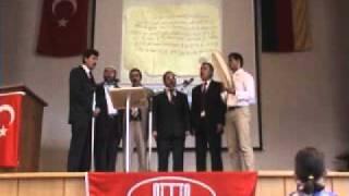 Ditib Ilahi Grupu Mevlana cami stadtprozelten