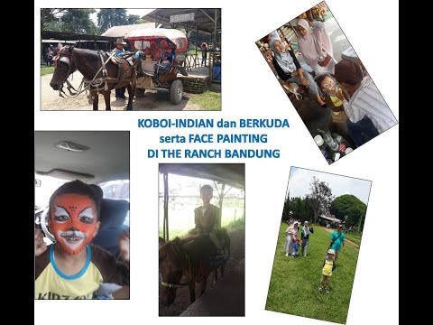 koboi-indian-dan-berkuda-serta-face-painting-di-the-ranch-bandung-(family-channel-trip)