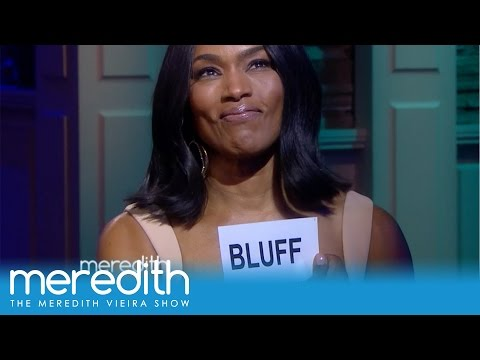 Angela Bassett Calls Meredith's Bluff! | The Meredith Vieira Show