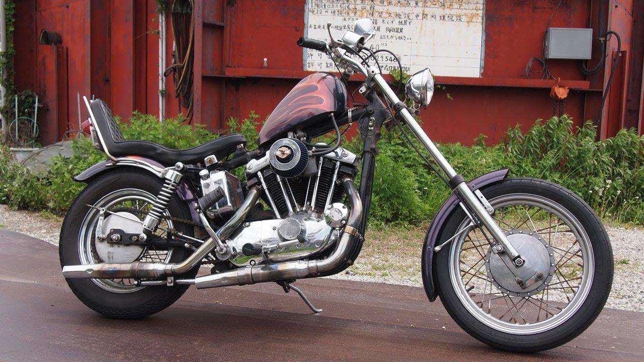 Harley Davidson: 1971 XLCH HARLEY DAVIDSON IRONHEAD