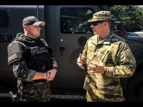 Meet Lt. Jeff Long - SWAT Team Commander, Greenville SC Police Department