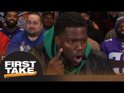 Kevin Hart: A tear spelling 'Foles' will fall down my face when Eagles win | First Take | ESPN