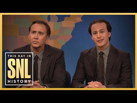 This Day in SNL History: Get in the Cage with Nicolas Cage