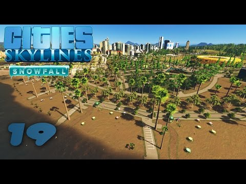 S02#019 - Santa Monica Beach | Lets Play Cities Skylines Snowfall | [HD, German]