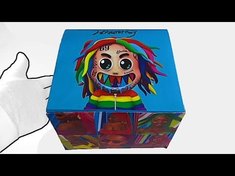 Unboxing 6IX9INE- GOOBA (Official Music Video) ASMR Relaxing end