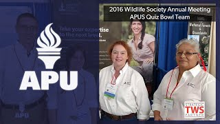 The Wildlife Society | American Public University (APU)