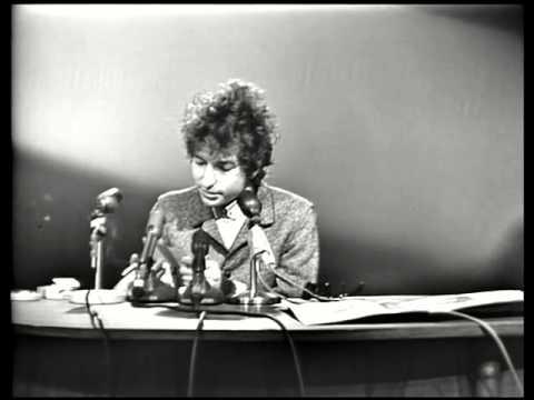 Bob Dylan Press Conference 1965 Part 1
