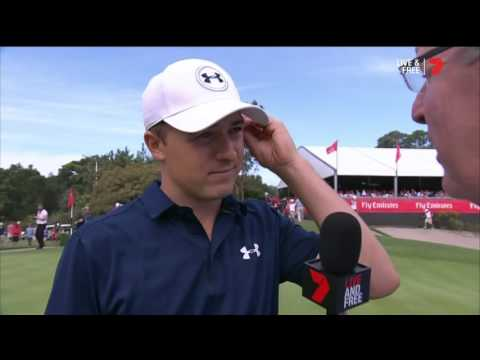 Spieth after winning 2016 Emirates Australian Open golf