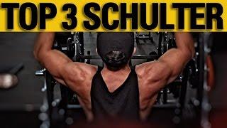 Top 3 der besten Übungen für eine große Schulter